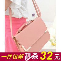 Wholesale 2014 new wave of Korean version of the package bag hanging bag lady sweet and sour pork shoulder bag diagonal fashion handbags blast wave