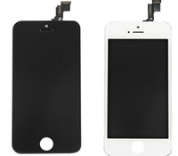 1   LCD Display & Touch Digitizer Complete Screen with Frame Full Assembly Replacement for iPhone 5s 5CBlack White 50pcs via DHL