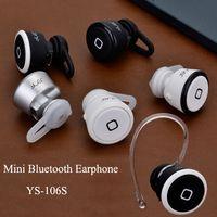 Universal   Universal MINI Wireless Bluetooth Stereo Earphone YE-106S V3.0 Headset Detachable Ear Caps Rechargeable Headphone