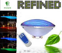 Wholesale led Par56 swimming pool lights bulb W W W led RGB remote multi color CE RoHs IP68