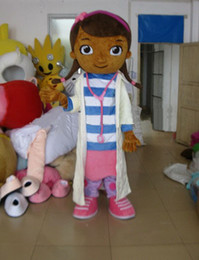 Wholesale Hot New Custom made Doc McStuffins mascot costume party costumes fancy animal character mascot dress amusement park outfitt