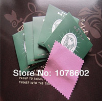 Wholesale Jewelry cleaning accessories amp Tools flannelette Silver Polishing cloth x8 cm