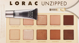 Wholesale LORAC PRO Color LORAC Unzipped Eyeshadow Pallete With BEHIND THE SCENES EYE PRIMER highly pigmented wearable matte shimmer eye shadow