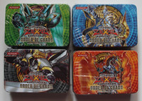 Wholesale WholesaleYugioh card game king print card set series Yugioh card chaotic sequence tin packing box of randomly shipped