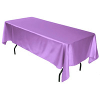 Wholesale 2014 New Arrival high quality shimmery satin tablecloth RECTANGULAR table cover SIZE CM CM