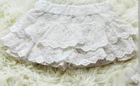 Wholesale Girls Summer White Lace Tutu Short Pants Children s Girl Casual Cake Shorts Girls Clothing Tutu