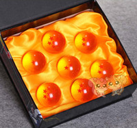 Wholesale retail animation dragonBall stars crystal ball set of new in box dragon ball Z complete