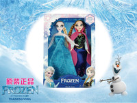 Wholesale Retail Frozen Anna Princess Empress Elsa Hans Kristoff Sven Olaf Action Figures Doll Classic Toys Decoration Children s Gifts