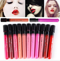 Wholesale 11 Colors Waterproof Liquid Makeup Lip Stick Lip Pencil Lipstick Lip Gloss Pen
