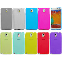 For Samsung Plastic Yes For Samsung Galaxy Note 3 N9000 100% Full Transparent Clear Soft TPU Gel Case Cover