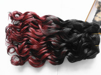 purple black hair color - indian human hair weft mixed two color the best hair weaves beauty wave extensins b natural black purple color