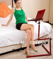 Metal School Furniture Computer Desk Free Delivery DHL Metal computer desk laptop table red for choose sofa and bed and office table adjustable folding table legs