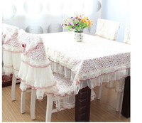 Wholesale Fashion classic Manufacturers supply New product Fabric art Dining chair series Table cloth Suit Countryside Jacquard clothTablecloth