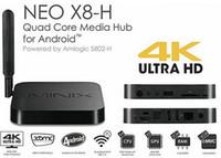 Quad Core Included 1080P (Full-HD) MINIX NEO X8-H X8 -H X8H 4K Android TV Box Quad Core Amlogic S802-H 2GB 16GB XBMC Kitkat 4.4 Smart Mini PC + NEO M1