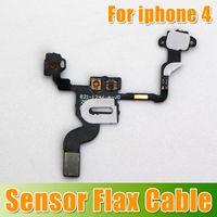Wholesale Singpore post free Proximity Light Sensor Flex Cable for iPhone G waitingyou