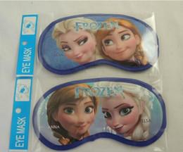 Wholesale 2014 new FROZEN Sleep Masks snow and ice colors Aisha Anna cartoon eye mask