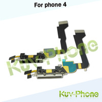 Wholesale Black Charging Port Dock Connector Flex Cable For iPhone USB Charger Port Flex Cable
