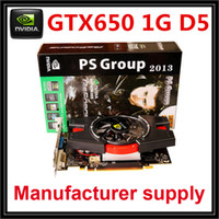 Wholesale HOT selling Nvidia GTX650Ti video card nvidia graphics card GK106 G DDR5 bit MHz MHz DX11 PCI E X16 DVI HDMI VGA