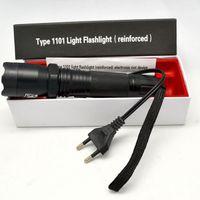 Wholesale Great Discount Promotion Electronic Self defense LED Flashlight Shocker