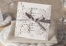 Wholesale New wedding Party laser invitation cards Printable and invitation Customizable