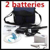 großhandel oxygen bar-DHL kostenloser Versand 2 Batterien Sauerstoff-Konzentrator Für die Tägliche Pflege Mini-Auto-Sauerstoff-Bar, Tragbare Sauerstoff-Inhalator Oxygenerator