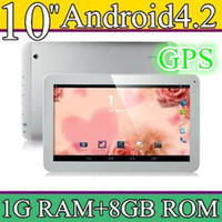10 inch Android 4.2 8GB 30PCS 10 10.1 Inch Quad Core 3G Phablet Android 4.2 1GB RAM 8GB MTK8382 Quad Core 1.3Ghz GPS Bluetooth Dual Sim Card Tablet Phone PB10-6
