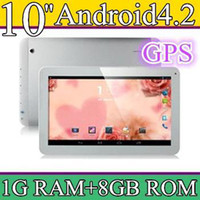 10 inch Android 4.2 8GB 50PCS 10 10.1 Inch Quad Core 3G Phablet Android 4.2 1GB RAM 8GB MTK8382 Quad Core 1.3Ghz GPS Bluetooth Dual Sim Card Tablet Phone PB10-6