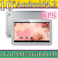 10 inch Android 4.2 8GB 100PCS 10 10.1 Inch Quad Core 3G Phablet Android 4.2 1GB RAM 8GB MTK8382 Quad Core 1.3Ghz GPS Bluetooth Dual Sim Card Tablet Phone PB10-6
