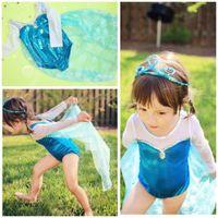 Cheap TuTu cape dress Best Summer Pleated elsa costume