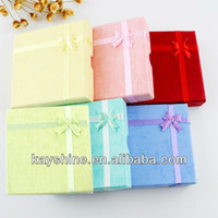 Wholesale New Arrival Cheap Jewelry Packaging and Display Paper Colorful Gift Box for Bracelet