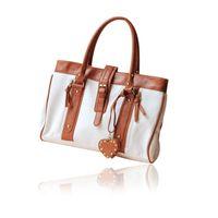 Wholesale Korean Style Fashion Bag Women Handbag PU Leather Shopper Handbag Woman Tote Shoulder Bags White for Shopping Bag