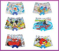 Wholesale 2016 Time limited Boy Children Underwear Fashion Soft Cotton Kids Cute Cartoon Panties Briefs Underwear Boy Boxers