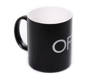 Wholesale Magical ON OFF Switch Color Changing Mug Black