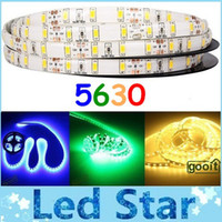 Wholesale 50M Waterproof Non waterproof Led Flexible Strips Light V W M Leds M With M Tape Warm White Cool White Red Green Blue Female