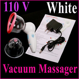 Wholesale NEW V US Plug Professional Rechargeable Handheld Vacuum Beauty Body Massager Skin Health Care instrument