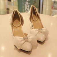 Wholesale 2014 Women Pumps Tenis Feminino Heels Handmade Princess Bridesmaid Beaded Butterfly Wedding Shoes High heeled Bridal Crystal