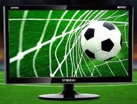 Wholesale Digital inch Widescreen LED narrow frame LCD TV flat panel TV monitoring computer display