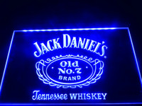 Wholesale LE048 B Daniels Old No Bar Beer Neon Light Sign LED sign