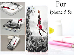 Wholesale Air Michael Jordan Hard Transparent Material Phone Case Cover for iphone s g th