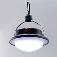 NEW 60 LED di campeggio esterna coperta Lampada con paralume Circle White Tent Luce camping lanterna appesa lampada H11102