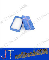 Jewelry Boxes   Assorted Colors Jewelry Sets Display Box Necklace Earrings Ring Box 5*8 Packaging Gift Box mixed MYY1714