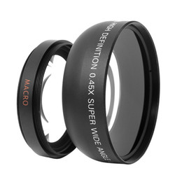 Wholesale New HD MM x Wide Angle Lens with Macro Lens for Canon Nikon Sony Pentax MM DSLR Camera D1208