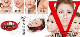 Wholesale Fashion Hot Slim Slimming Face Belt Shaping Cheek Scalp D Chin Uplift Sharp Anti Wrinkle Sagging Mask