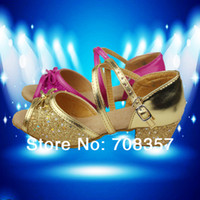 Wholesale Children Latin dance shoes girls shoes indoor Athletic Shoes stage performances Sandals