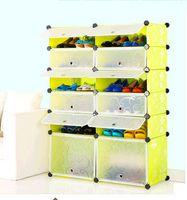 Wholesale Environmental dust simple shoe storage cabinets DIY magic piece diaphragm idyllic combination of shoe storage cabinet