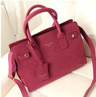 Wholesale Fashion women s handbag autumn and winter bags Matte leather handbag single shoulder women messenger bag