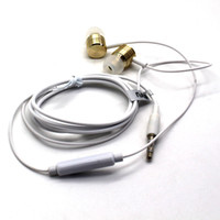 Wholesale Hot selling Metal Xiaomi Headphones for mm Cell Phone New Headphone for High Quality Xiaomi Earphone Mi Earphone without package