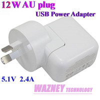 Direct Chargers all For AU 50pcs lot*AU plug 12W USB Power Adapter AC Home Wall Travel Power Charger 5.1v 2.4A Adapter For New iPad-Mini 4 3 2 iphone