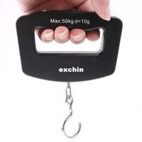 Pocket Scale <50g  10g-50kg Mini Weighing Hanging Luggage fishing Digital Scale