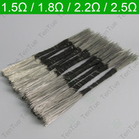 Wholesale TenTue Quality Resistance Coil Wire Resistor Heating Wire for E Cig Atomizer Coil DIY with No Resistance Soldering V104 resistance